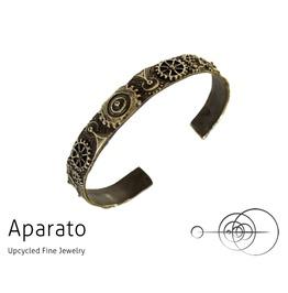 Steampunk Closed Gear Brass Bracelet