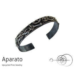 Steampunk Partial Gear Silver Bracelet