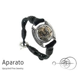Steampunk Vault Silver Bracelet