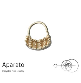 Steampunk Flat 24 K Gold Plated Septum