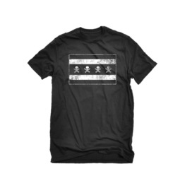 The Alley Chicago Flag Skulls T Shirt