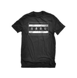 The Alley Chicago Flag Skulls T Shirt