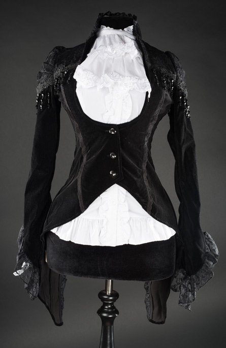 rebelsmarket_ladies_black_velvet_lace_victorian_gothic_tailcoat_jacket_9_cheap_shipping_jackets_3.jpg