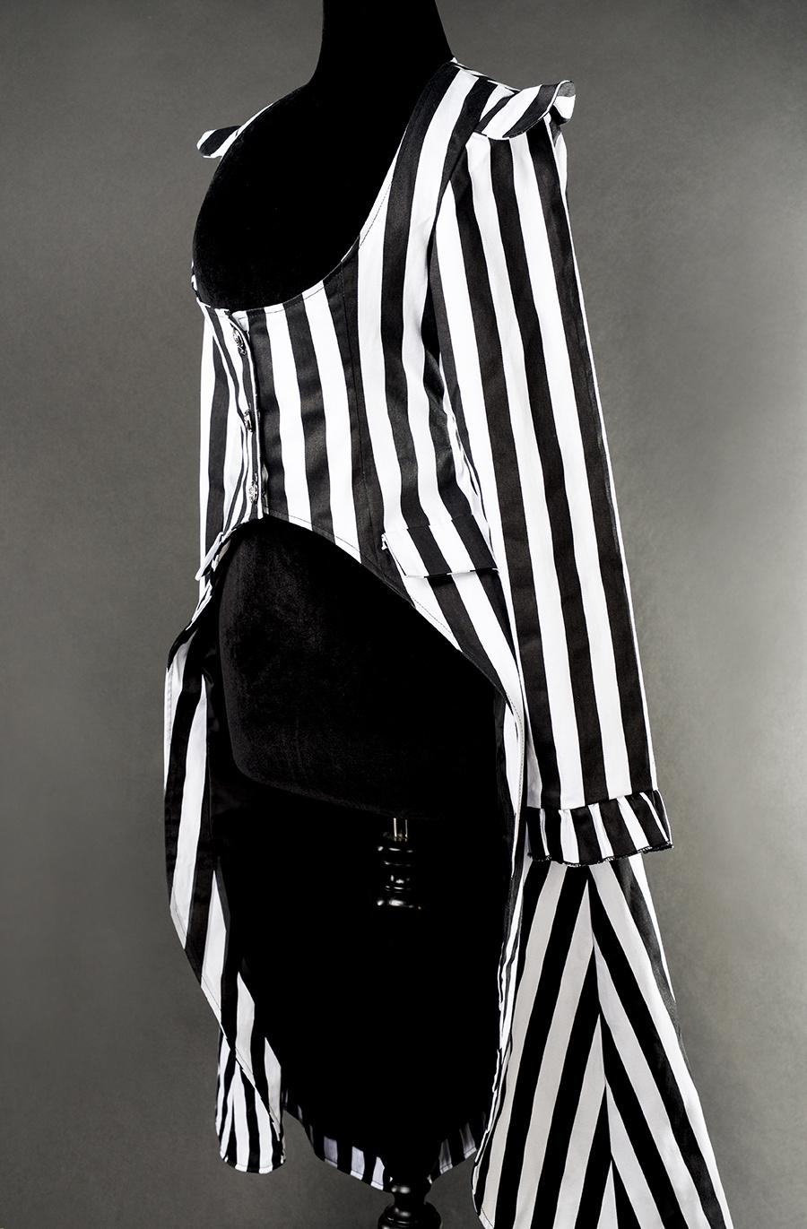 rebelsmarket_ladies_black_white_striped_victorian_gothic_tail_coat_jacket_9_to_ship_jackets_5.jpg