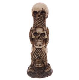 Egg N Chips London Gruesome Skull Totem Ornament