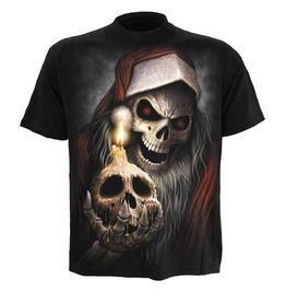 Spiral Alternative Christmas T Shirt Skull Santa