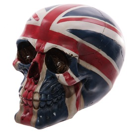 Egg N Chips London Novelty Union Flag Skull Ornament