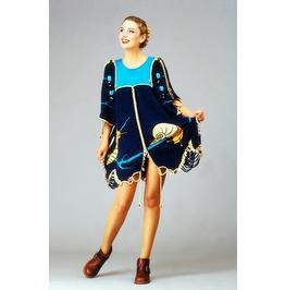 Knit Cocktail Dress ''evening Snails''