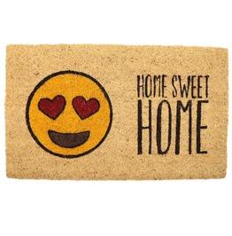 Egg N Chips London Emotive Coir Door Mat Home Sweet Home