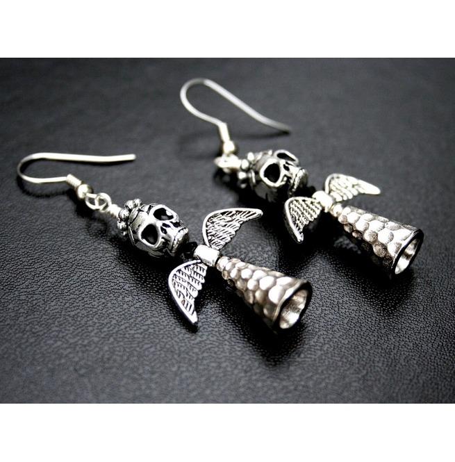 rebelsmarket_angel_of_death_iii_silver_winged_sugar_skull_earrings_earrings_3.jpg