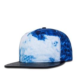 Hip Hop Blue 3 D Digital Ink Dancing Cap 570
