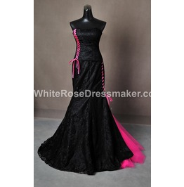 Gothic Wedding Dress Gown Made To Measurements Handmade Free Delivery
