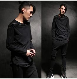 Personalized Zipper Casual Long Sleeve Shirts