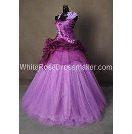 Gothic Wedding Dress Purple Gown Made To Measure Handmade Free Delivery