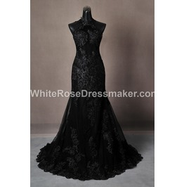 Gothic Wedding Dress Backless Gown Made To Measure Handmade Uk