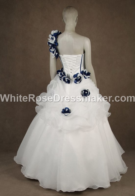 Gothic Wedding Dress Black And White Gown Made To Measure Handmade Uk