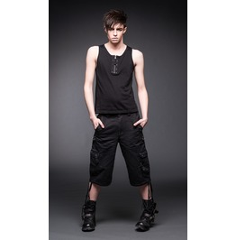 3/4 Pants With 2 Side Pockets And D Rings From Queen Of Darkness