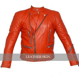 Choose Color Mens Quilted Leather Motorcycle Jacket Punk Biker Coat $9 Ship
