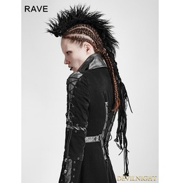 Punk Rave Black Gothic Punk Headwear