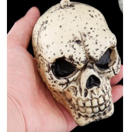 Handcraft Hallowmas Little Skull Resin Decorate Kl 1