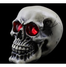 Handcraft Hallowmas Big Skull Resin Decorate Kl 3