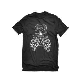 The Alley Diy Sugar Skull Tshirt