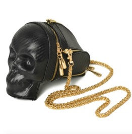 Women's Gothic Steampunk Skull Hand Bag