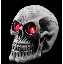 Handcraft Hallowmas Big Skull Resin Decorate Kl 5