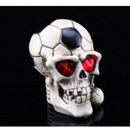 Handcraft Hallowmas Big Football Skull Resin Decorate Kl 7