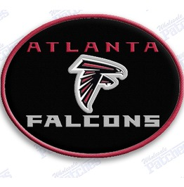 Atlanta Falcons Iron On Embroidered Patch Patches Nfl Football Sports
