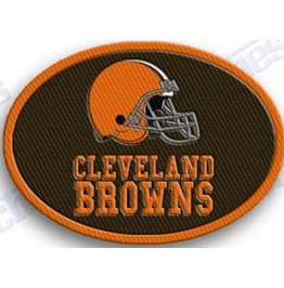 Cleveland Browns Iron On Embroidered Patch Patches Nfl Football Sports