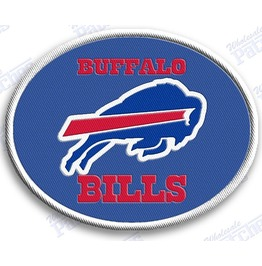 Buffalo Bills Iron On Embroidered Patch Patches Nfl Football Sports