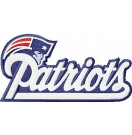 New England Patriots Iron On Embroidered Patch Patches Nfl Football Sports