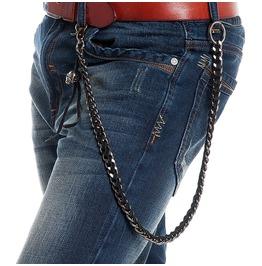 Men's Knitted Skull Waist Chain