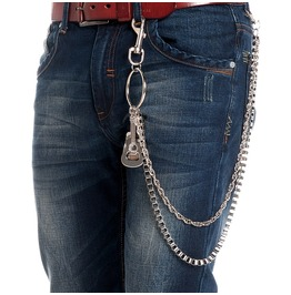Men's Double Deck Guitar Waist Chain