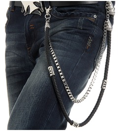 Men's Knitted Double Deck Waist Chain