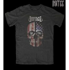 Divided We Fall, By Ink Tee Brand, Men's T Shirt