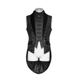 Punk Rave Victorian Style Steampunk Gothic Vampire Aristocrat Elegant Vest
