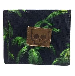 Antifashion Palm Tree Print Wallet