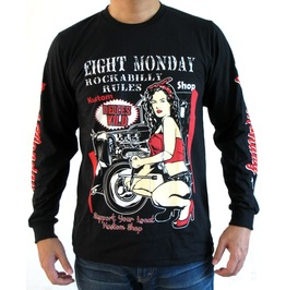 Eight Monday Shirt Vintare Mortorcycle Kulture Custom Cars Cafe Racer Em33