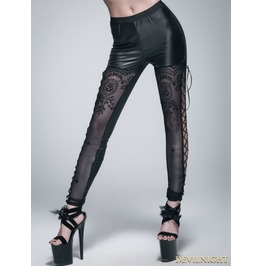 Black Gothic Legging For Women