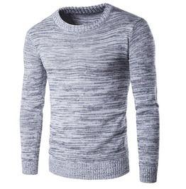 Men's Grey Casual Pullover