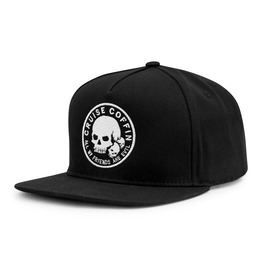 All My Friends Are Evil Snapback Hat: Horror Cranium Skull With Friends