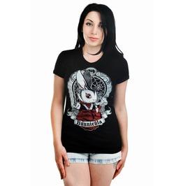 Too Fast Vampire Bunny Babydoll T Shirt