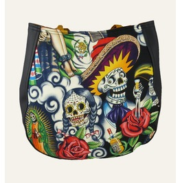 Sugar Skull Multi Shoulder Charla Purse