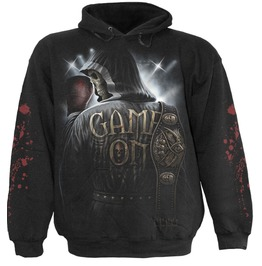 New Game On Men Black Death Hoody