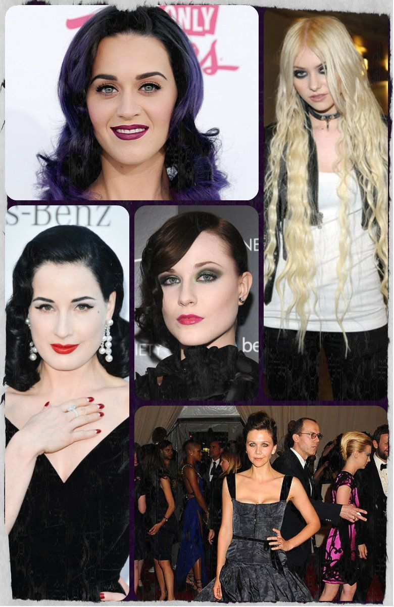 Glam Goth Fashion tips