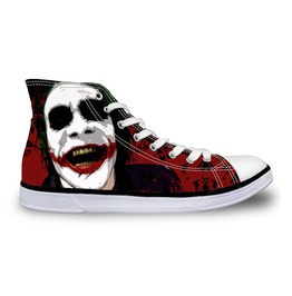 Joker Batman Shoes High Top Shoes Women Shoes And Men Casual Shoes Sneakers