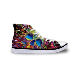 Rock Skull Shoes High Top Shoes Women And Men Shoes Casual Shoes Unisex