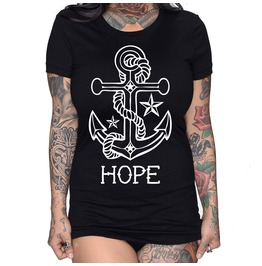 Hope Anchor Fitted Tee